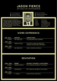 Free Black Elegant Resume Cv Design Template Resume Ai