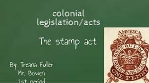 「On March 22, 1765, the British government levies its first internal tax directly on American colonists with the Stamp Act.」の画像検索結果