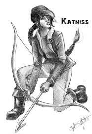 katniss everdeen by zeeponj