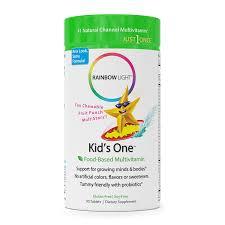 Amazon Com Rainbow Light Kids One Food Based Multivitamin