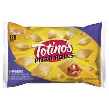 totinos pepperoni pizza rolls 120 ct 59 3 oz bag
