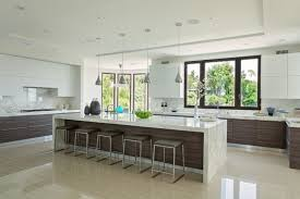 Kitchen Cabinet Layout Tool Laminate Cabinets Edge Countertops Thermofoil  Waterfall Backsplash Calacatta Gold Marble Slab Countertop