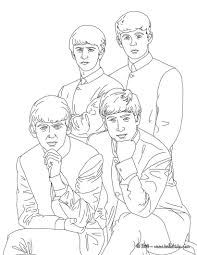 The Beatles Colouring Page The Beatles Beatles Abbey Road En