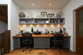 Designer Home Office Desks Custom Dark Wood Table And Chairs In Small Home Office Furniture Design