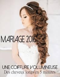 Coiffure Mariage Cheveux Mi Long Bouclé