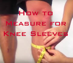 Rocktape Knee Sleeve Size Chart How To Measure For Knee Sleeves Finding The Right Size And