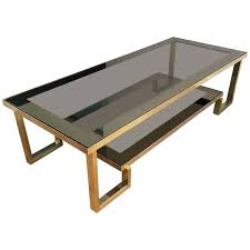 modern chrome coffee table large mid century modern brass and chrome coffee table modern rectangle glass