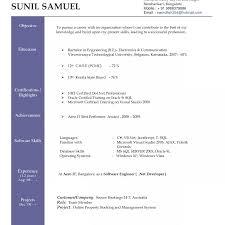 Word Format Resume Free Download Sample Resume Download In Word Format Unbelievable For Freshers Ms 34