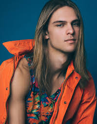 Pin on Hot Long Hair Male Models