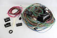 street rod wiring harness 12v 24 circuit 15 fuse street hot rat rod wiring harness wire kit complete