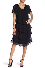 Sl Fashions Ruffle Tiered Dress Hautelook