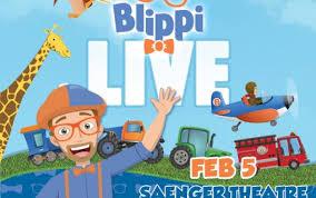 Blippi Live Mobile Saenger Theatremobile Saenger Theatre