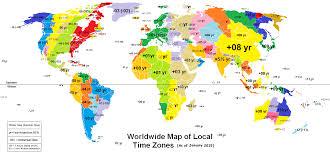 ไม่ใช่ทุกประเทศบนโลกที่จะ +GMT เพิ่มทีละ 1 ชม.เท่านั้นนะ!