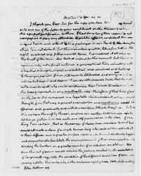missouri compromise the rosenbach thomas jefferson to john holmes 22 1820 thomas jefferson papers library of congress