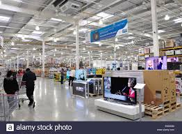 costco whole corporation stock photos costco whole interior of costco whole store western international park hayes rd hounslow greater