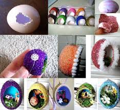 diy easter home craft creative egg shell carvings find fun art projects to do at home and arts and crafts ideas find fun art projects to do at home and