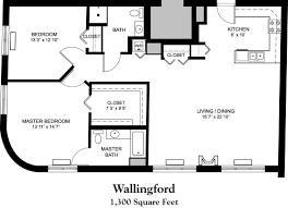 house plans 1300 square foot home deco plans