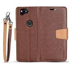 for google pixel 2 flip case muxma flip card phone case two color anti