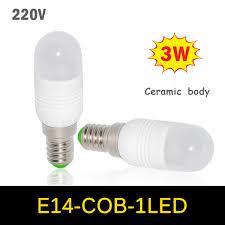 10pcs lots new mini led lamp 3w e14 ac 220v 240v crystal bulb ceramic
