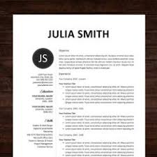 professional curriculum vitae   professional cv   resume template    resume   cv template  professional resume design for word mac or pc  free cover letter  creative  modern   the chloe