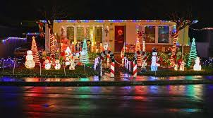 Alameda County Fairgrounds Christmas Lights Candy Cane Lane Showcases Holiday Lights In Pleasanton