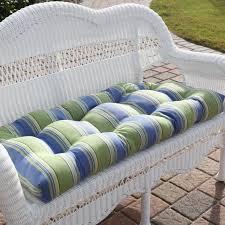 Cushions Patio Bench Cushions Wicker Settee Cushions