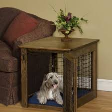 furniture style dog crate. Pet Crate End Table Dog Kennel Coffee Furniture Style And Mermaid
