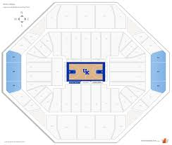 Rupp Arena Seating Chart Section 231 Rupp Arena Kentucky Seating Guide Rateyourseats Com