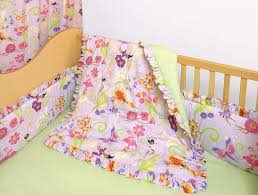cotton made in kids bedding set changing pad cover garden crib minnies 3pc garden gate with linen 4 piece crib bedding