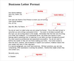 Free Download Business Letter Format PDF Template