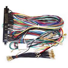 amazon com winit jamma board standard cabinet wiring harness loom jamma harness to vga at Jamma Wiring Harness