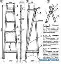 Лестницы и стремянки своими руками