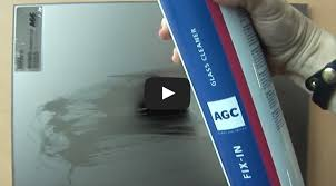 acid etched glass cleaning cleaning kit for end users