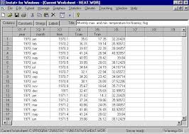 statistics statistical software general statistical package particurarly aimed at analysis of climatic data