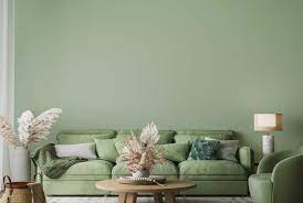 what color goes with a sage green couch