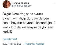 Özgür Demirtaş(@ProfDemirtas) 님 | 트위터