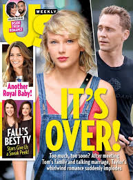 1 taylor swift and tom hiddleston