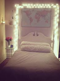 Christmas Lights in Bedroom Height