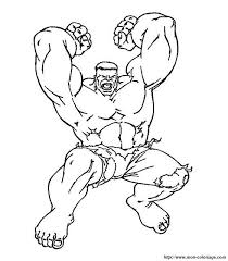 Hulk Da Colorare Colorareploofr