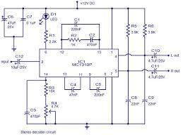 stereo decoder circuit diagram circuits circuit stereo decoder circuit diagram