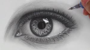 eyes drawings how to draw hyper realistic eyes step by step youtube