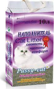 Наполнитель для кошачьего туалета <b>Pussy</b>-<b>Cat</b>, 59662 ...