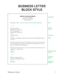 Cover Letter Block Format Resume Block Style Resume Format Sample