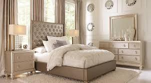 popular bedroom furniture. sofia vergara paris silver 5 pc queen upholstered bedroom popular furniture s