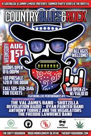 The Val James Band • Shotzilla • Revolution Radio • Ryan Painter Band • Anthony  Torrez and the Regulators • outlaw country • The Freddy Lawrence Band at  Dirty Bourbon, Albuquerque