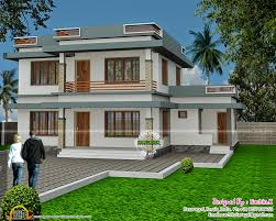 ... Flat roof house design ...