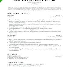 Bank Teller Resume Sample Best Bank Teller Resume Sample Bank Teller Resume Sample Top Rated Bank
