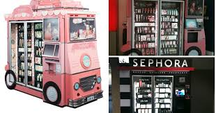 Vending Machine Sephora Mesmerizing Cosmetic Vending Machines The Sunday Girl