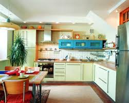 Interiors Of Kitchen Kitchen And Dining Interiors Kerala Home Design And Floor Plans
