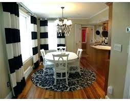 dining room table rug size round table rug round rug under dining room table love this